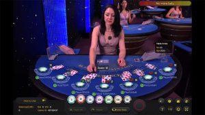 Ezugi American Blackjack Screenshot