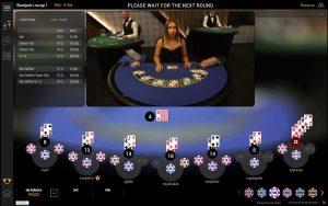 Playtech Lounge Blackjack Screenshot