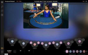 Playtech Transylvania Blackjack Screenshot