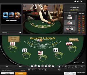 Playtech Unlimited Blackjack